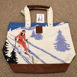 NWT Neve Courchevel Tote Bag